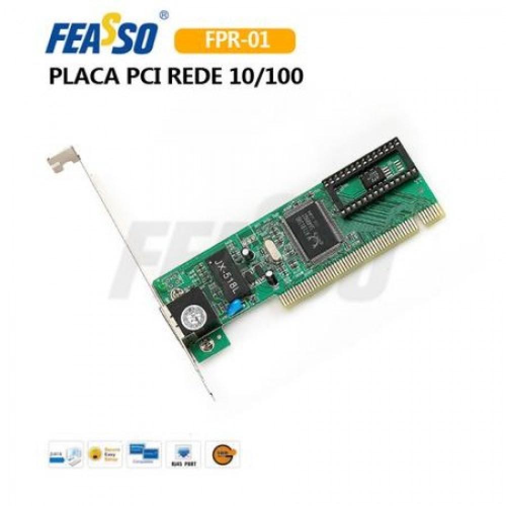 104 - PLACA PCI FPR-01 10/100MB