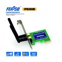Placa pci-e fpr-300m rede sem fio c/ 2 antenas wi-fi