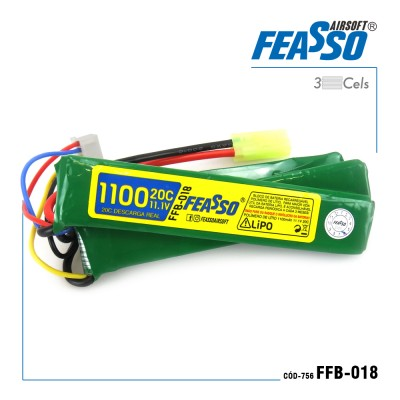 Bateria Ffb-018 (20c) 11.1v 1100mah