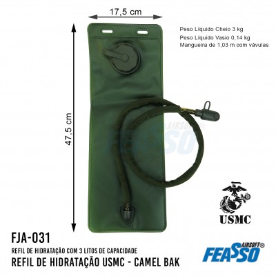 Camelbak Fja-031 Refil Usmc 3l