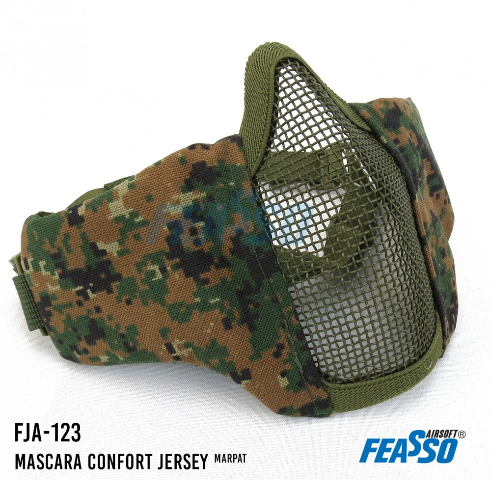 Mascara jersey comfort fja-123 airsoft marpat*