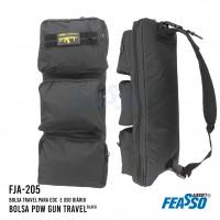 Bolsa pdw gun travel fja-205 preta*