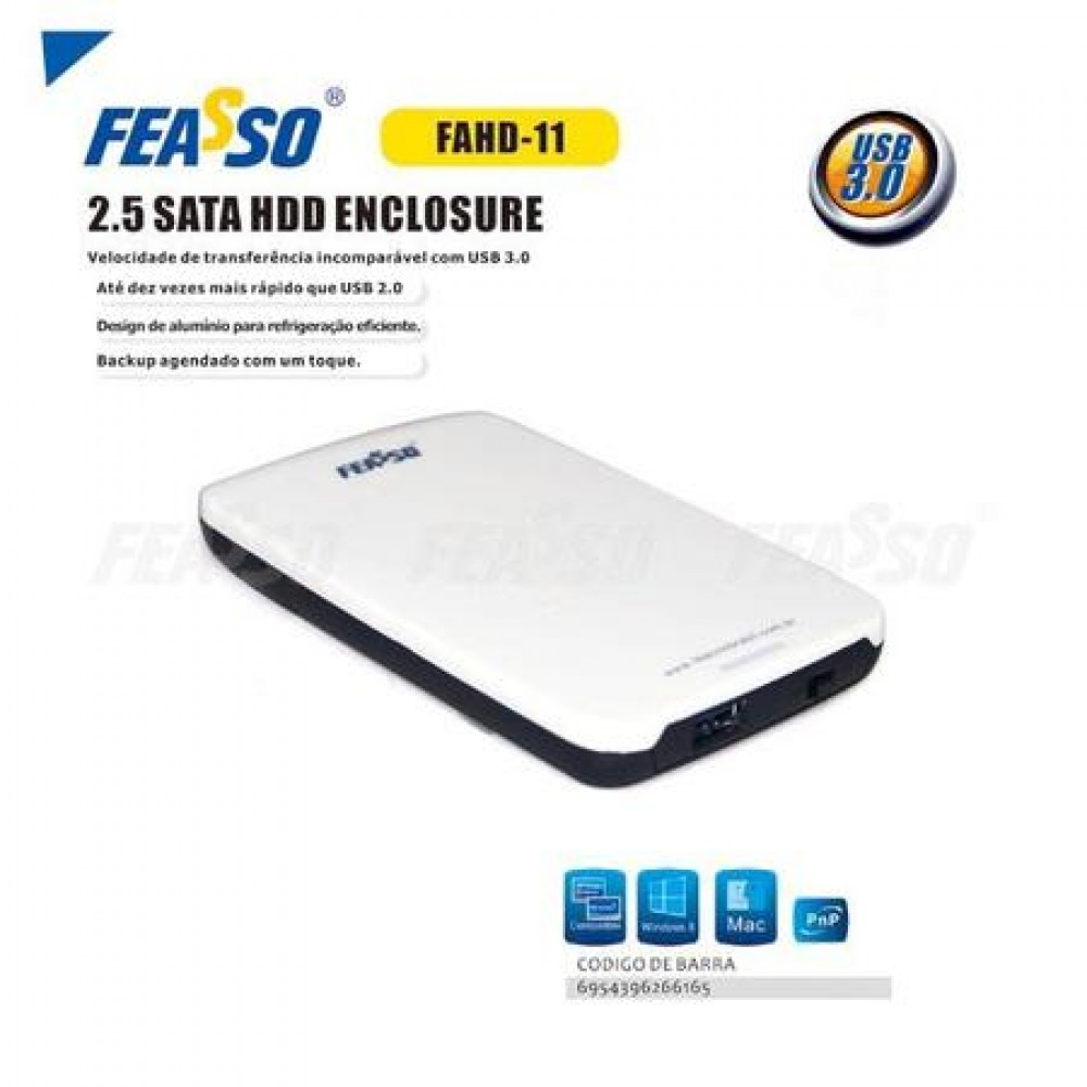 "Case hd fahd-11 2.5"" sata - usb 3.0"