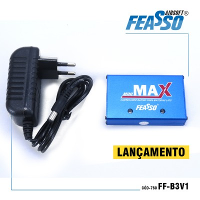 Carregador Compacto Ff-b3v1