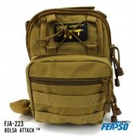 Bolsa traveler attack 5l fja-223 tan*