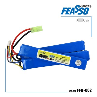 Bateria Ffb-002 (15c) 11.1v 1500mah