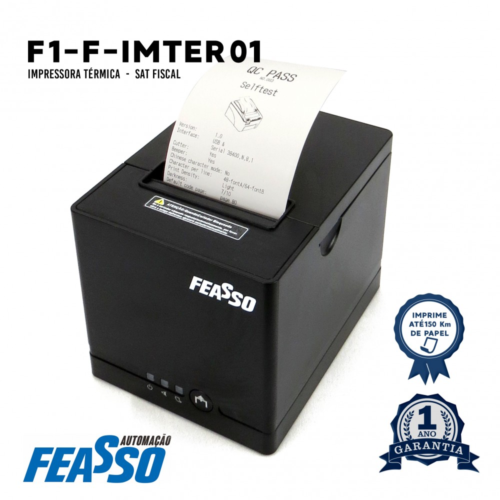 688 - IMPRESSORA TERMICA F-IMTER01 DE ALTA VELOCIDADE