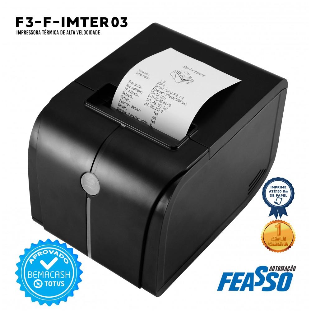 592 - IMPRESSORA TERMICA F-IMTER03 DE ALTA VELOCIDADE***