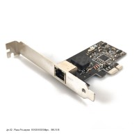 JPR-02 - Placa Pci-Express  10/100/1000 mbps